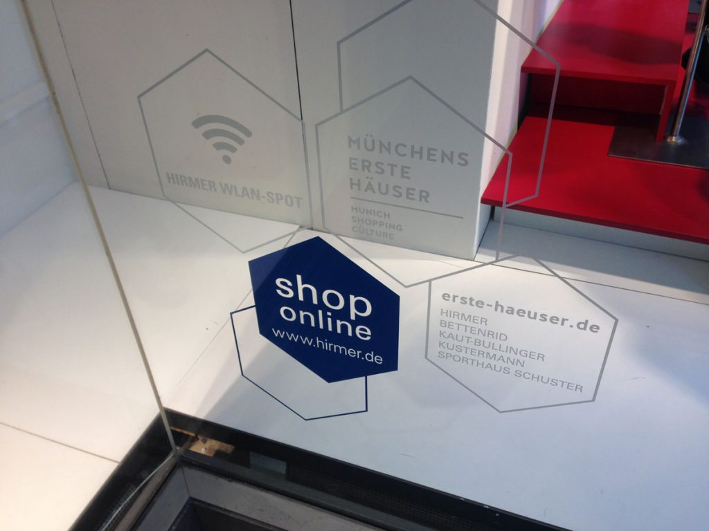 Hirmer – untrennbar verbunden mit Münchens Shopping-Kultur (Foto: Andreas Haderlein)