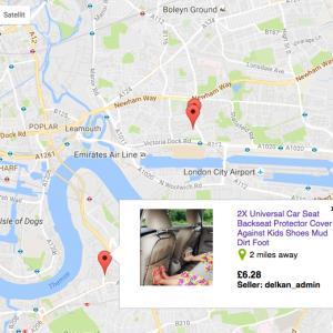 Lokale Ausrichtung des eBay-Marktplatzes in UK