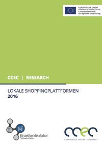 Das Competence Center E-Commerce (CCEC) untersucht lokale Shoppingplattformen