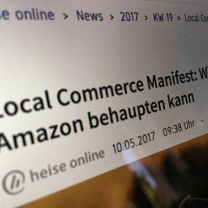 """Heise online berichtet über das """"Local Commerce Manifest"""""""
