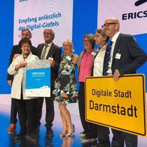Von der Wissenschafts- zur Digitalstadt: Darmstadt ist Sieger des Bitkom-Wettbewerbs