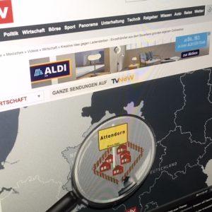 """""""Die spinnen, die großen Online-Händler"""" – Sender ntv berichtet über den Attendorner Online-Marktplatz"""