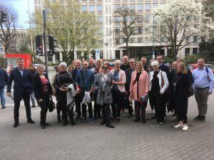 Die dänische Delegation in Wuppertal, Foto: LCA