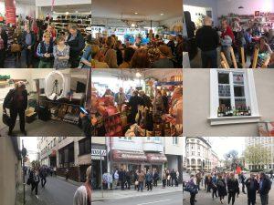 Am Nachmittag standen Besuche bei OCW-Händlern an – Gelegenheit auch für den Einkauf von Souvenirs, Fotos: LCA, Wifö Wuppertal