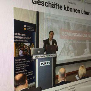 SWP berichtet über den 4. Handelstag in Nürtingen