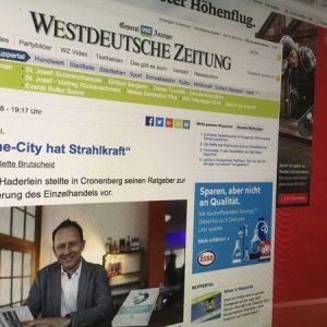 Westdeutsche Zeitung berichtet über Buchpräsentation