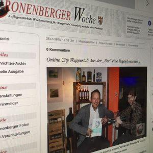 Bericht über Buchvorstellung in Wuppertal