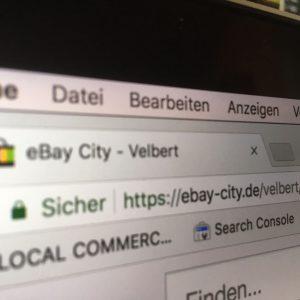 """Der unerklärliche Launch von """"Velbert bei eBay"""""""