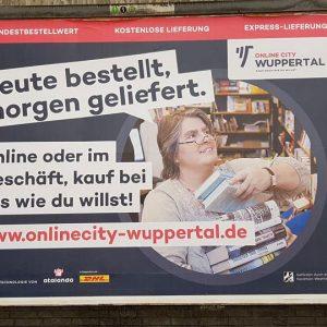 Online City Wuppertal liefert wieder Bücher