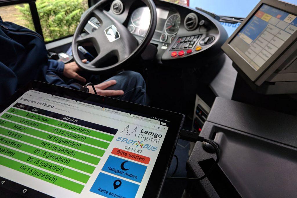 Optimierung der digitalen Services im öffentlichen Nahverkehr (Foto: Lemgo Digital)