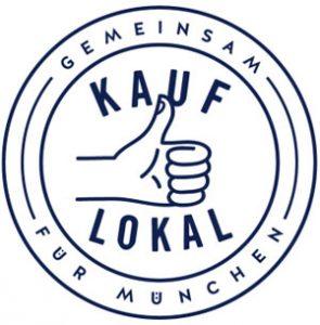 Logo der Kampagne #KAUFLOKAL