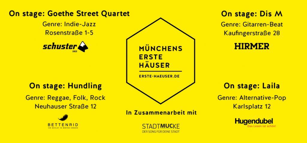 Münchens Erste Häuser brechen eine Lanze für lokale Bands