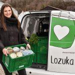 Lozuka und Konservenlieferung