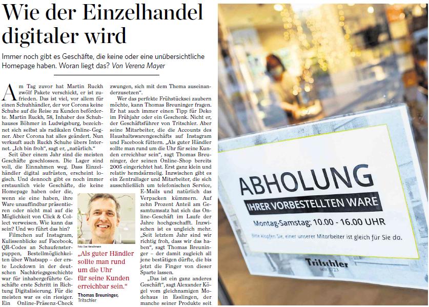 Interview Stuttgarter Zeitung