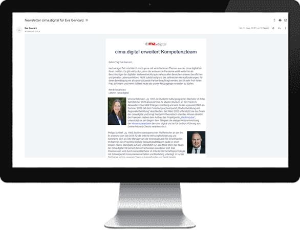 cima.digital Newsletter